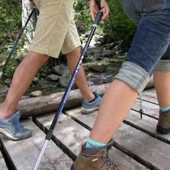 Nordic walking Trentino Luna Wellness Hotel