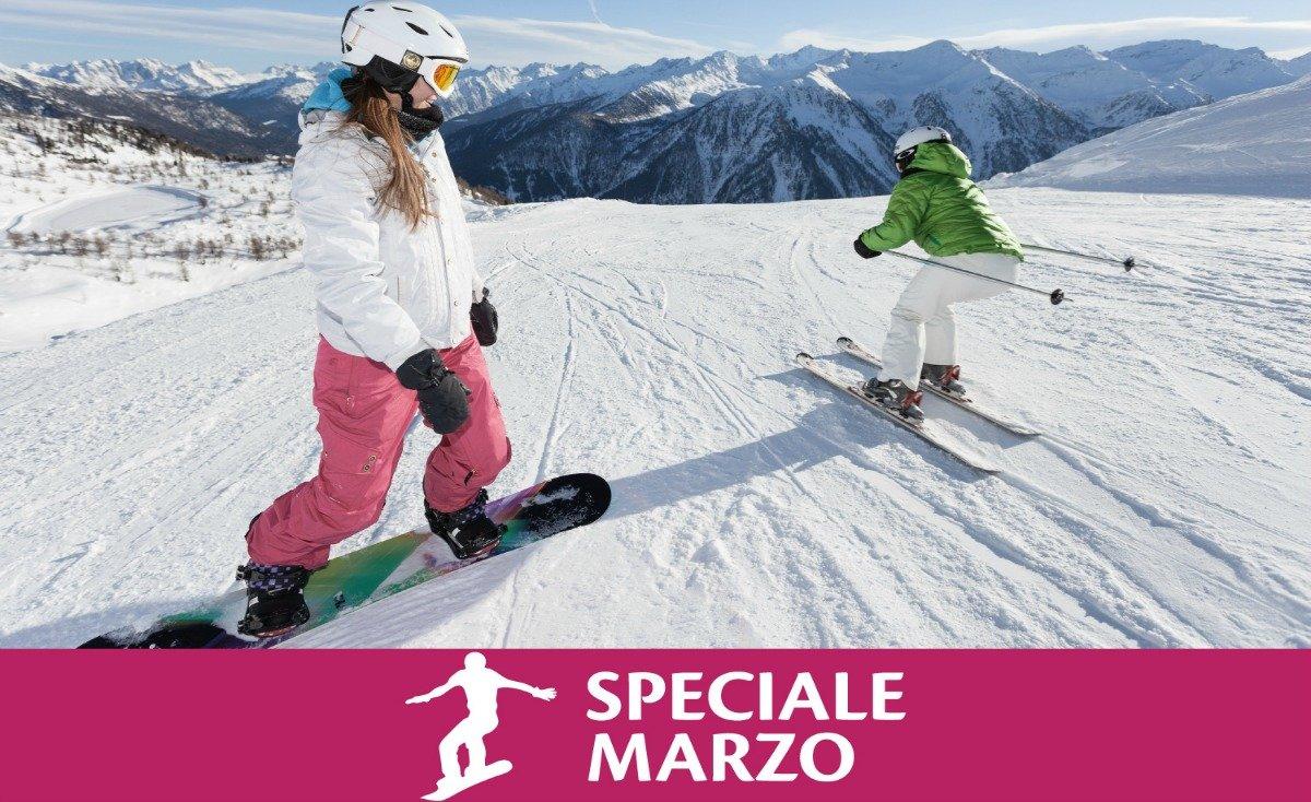 Free Ski Speciale Marzo - scia gratis