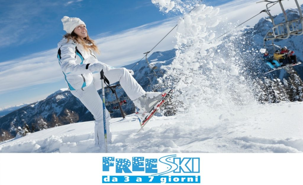 Free ski Dicembre 2016 - scia gratis fino al 18!
