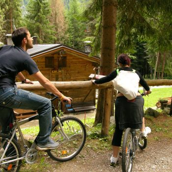 Mountain bike Luna Wellness Hotel